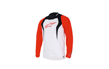 Alpinestars Drop Longsleeve Jersey white/black